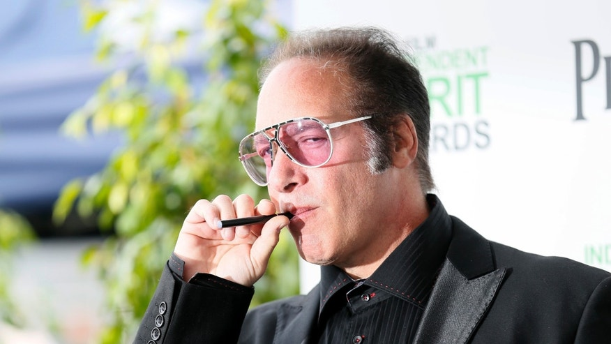 March 1, 2014. Actor Andrew Dice Clay arrives at the 2014 Film Independent Spirit Awards in Santa Monica, California.