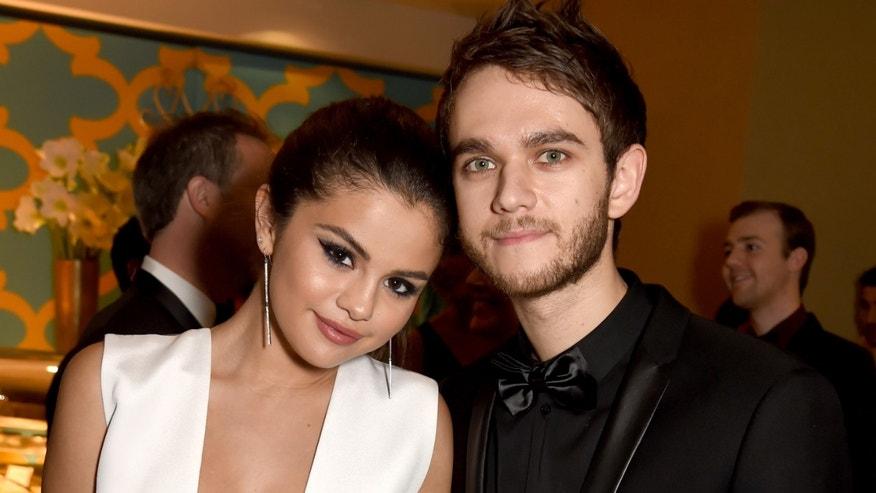 Selgo and Zedd attend HBO's Golden Globe After Party on January 11, 2015 in Beverly Hills. (Photo by Jeff Kravitz/FilmMagic)