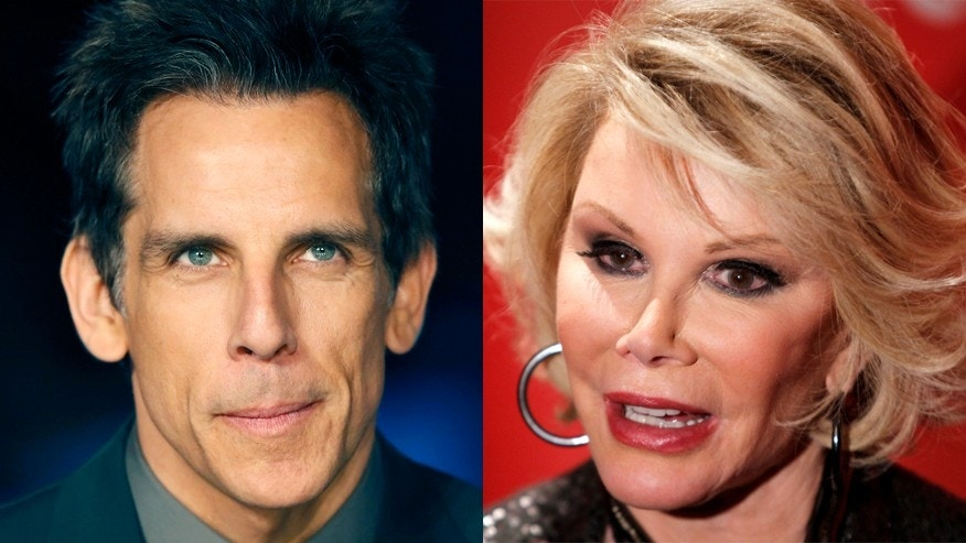 Ben Stiller, left, and Joan Rivers never resolved their differences before her death, he revealed.
