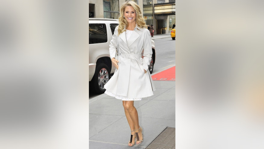 Christie Brinkley spotted out and about in Midtown NYC.