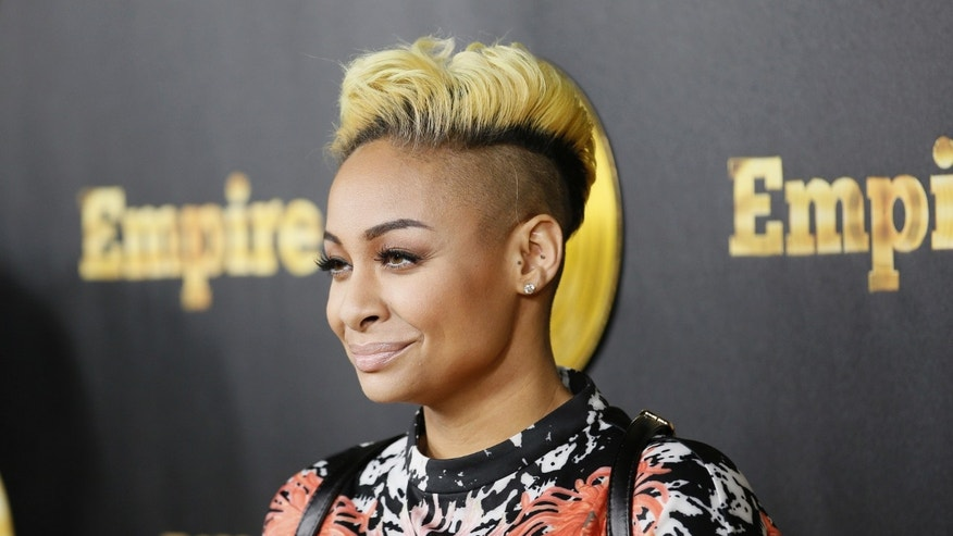 "January 6, 2015. Actress Raven Symone poses at the ""Empire"" premiere party in Hollywood, California."