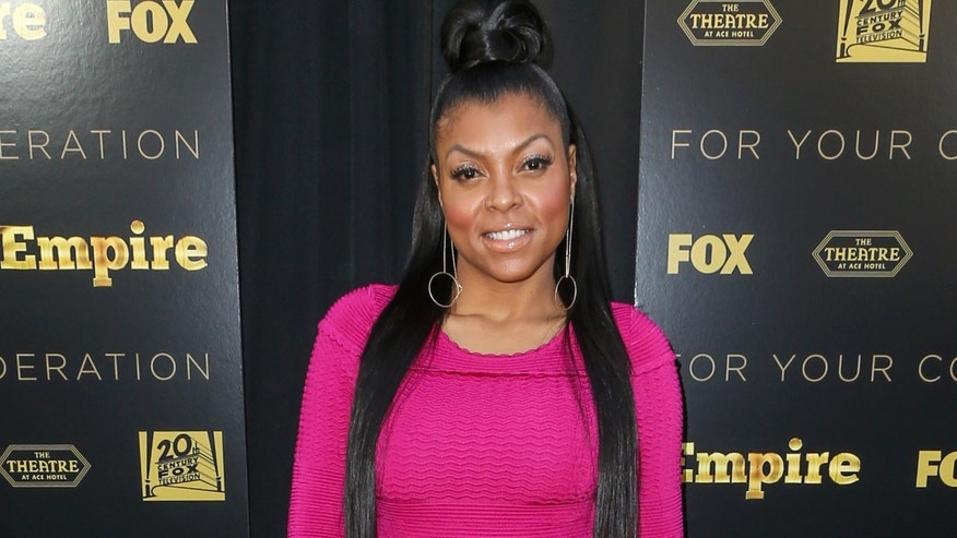"""March 12, 2015. Taraji P. Henson attends the LA Academy Screening of """"Empire"""" at the Theater at the Ace Hotel, in Los Angeles."""