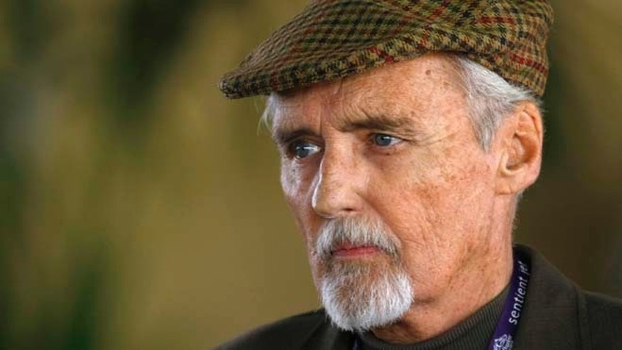 "Actor Dennis Hopper, seen here in 2009, died in 2010 before completing ""The Last Film Festival."" Now, filmmaker Linda Yellen is turning to Kickstarter to finish the film.  REUTERS/Mike Blake"