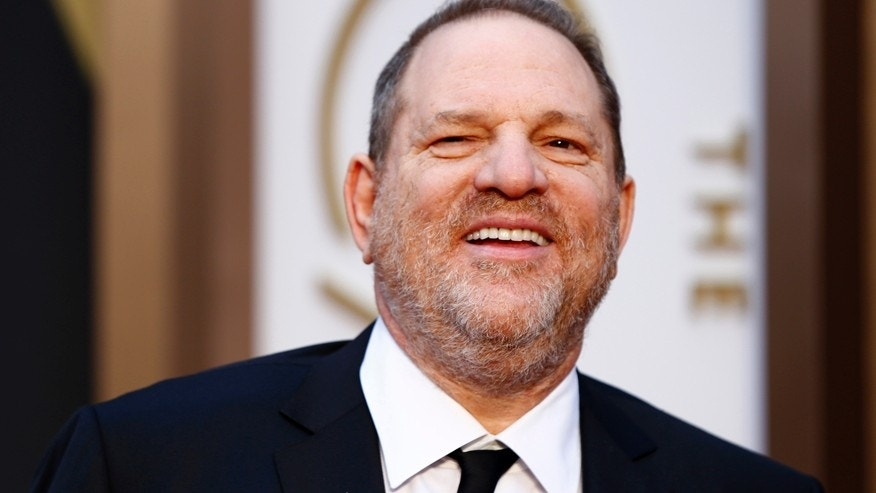 The Weinstein Company Co-Chairman Harvey Weinstein arrives at the 86th Academy Awards in Hollywood, California March 2, 2014.