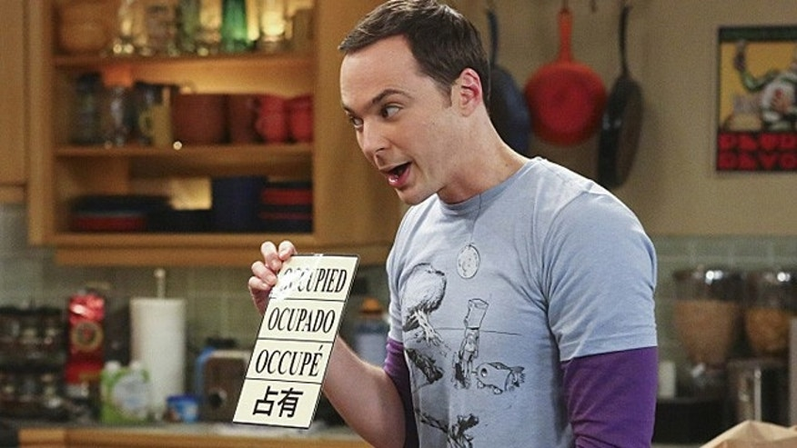 Sheldon Cooper (Jim Parsons) on 'The Big Bang Theory' (Michael Ansell/Warner Bros. Entertainment Inc.)