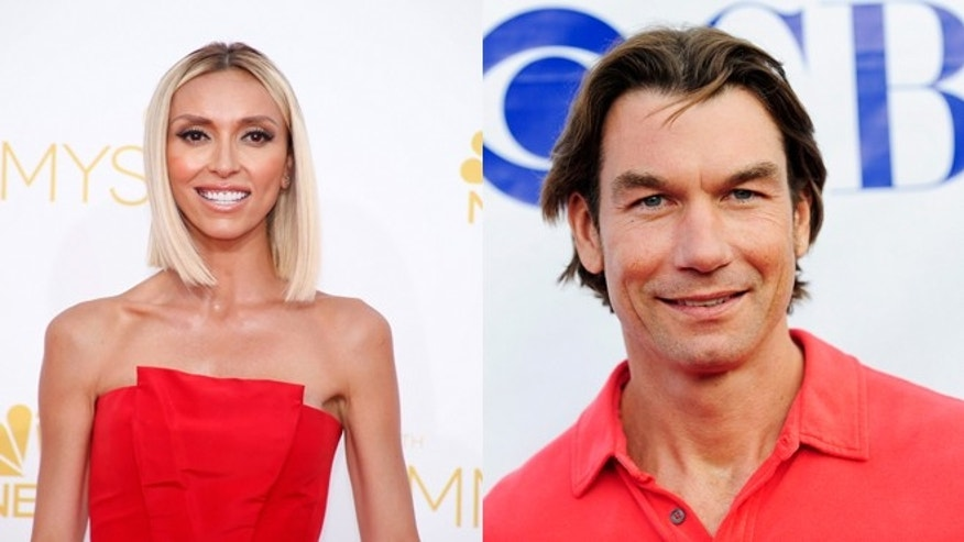 Left. Giuliana Rancic. Jerry O'Connell.
