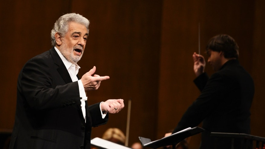 Placido Domingo in a June 7, 2013 file photo.