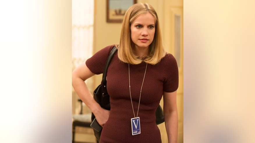 "Anna Chlumsky as Amy Brookheimer in HBO's ""Veep."""