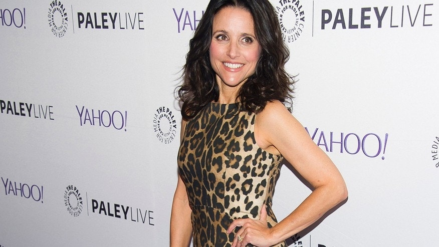 "Julia Louis-Dreyfus attends An Evening With The Cast of ""Veep"" at the Paley Center for Media on Tuesday, April 7, 2015, in New York."