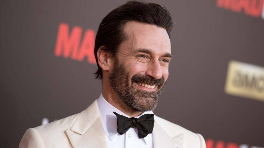 "March 25, 2015: Jon Hamm arrives at The Black And Red Ball In Celebration Of The Final Seven Episodes Of ""Mad Men"" in Los Angeles."