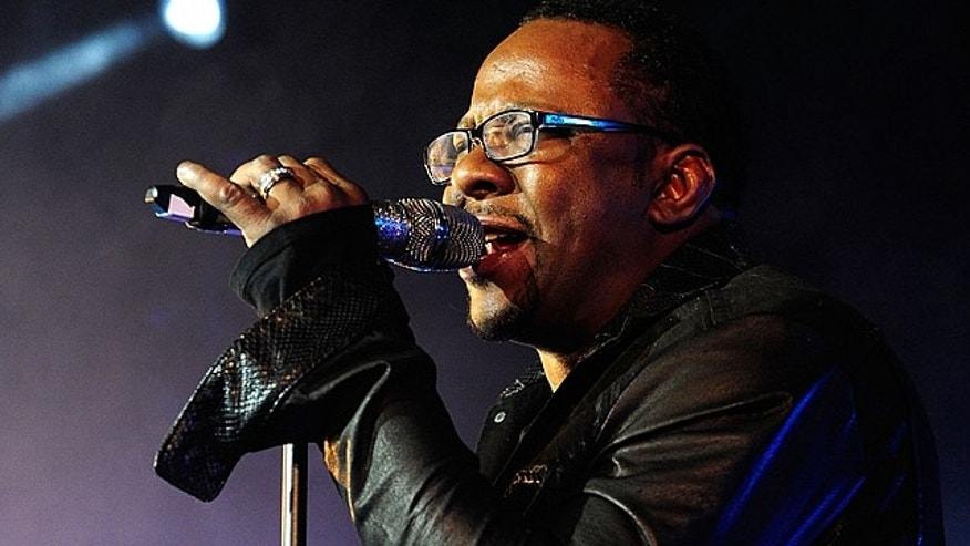 April 11, 2015. Bobby Brown at the Soul Food Festival in Los Angeles.