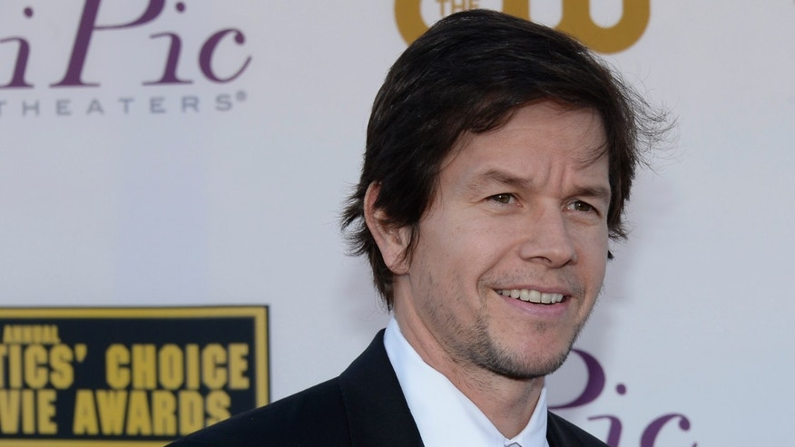January 16, 2014. Actor Mark Wahlberg arrives at the 19th annual Critics' Choice Movie Awards in Santa Monica, California January 16, 2014.