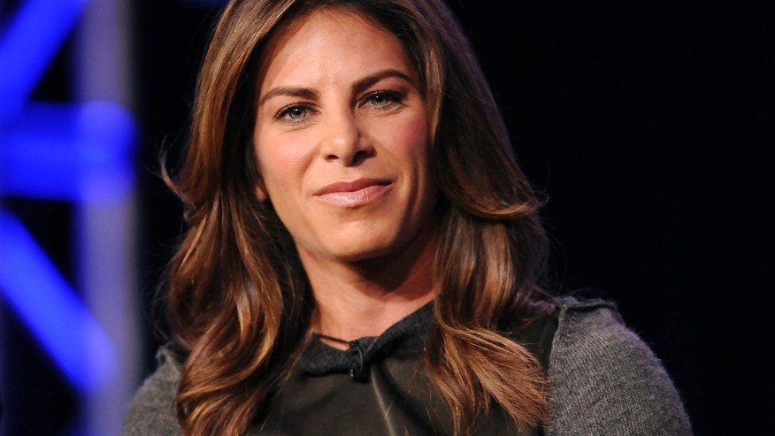 "Trainer Jillian Michaels takes part in a panel discussion of NBC Universal's show ""The Biggest Loser"" during the 2013 Winter Press Tour for the Television Critics Association in Pasadena, California January 6, 2013."