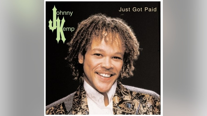 Johnny Kemp album cover
