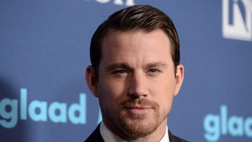March 21, 2015. Actor Channing Tatum attends the 26th annual GLAAD Media Awards in Beverly Hills, California.