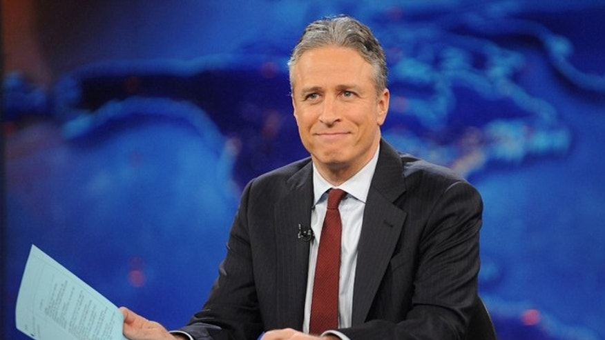 "Nov. 30, 2011. Jon Stewart during a taping of ""The Daily Show with Jon Stewart"" n New York."
