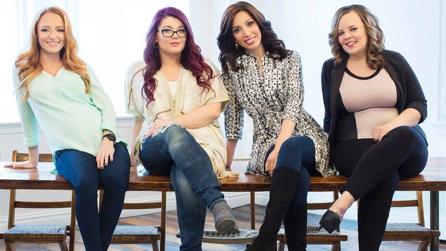 "The cast of MTV's ""Teen Mom OG."" From left: Maci Bookout, Amber Portwood, Farrah Abraham and Catelynn Lowell."