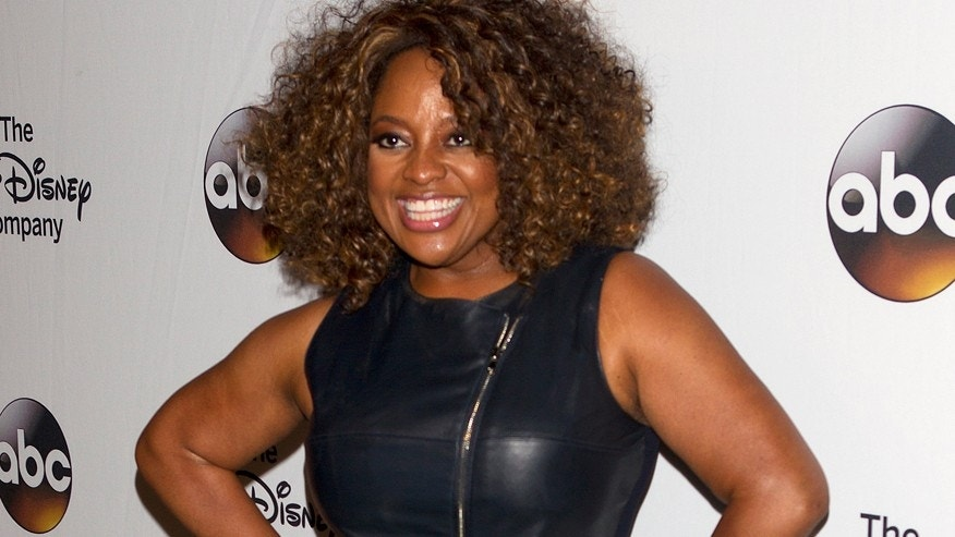 "Comedian Sherri Shepherd arrives for ""A Celebration of Barbara Walters Cocktail Reception"" in New York May 14, 2014."