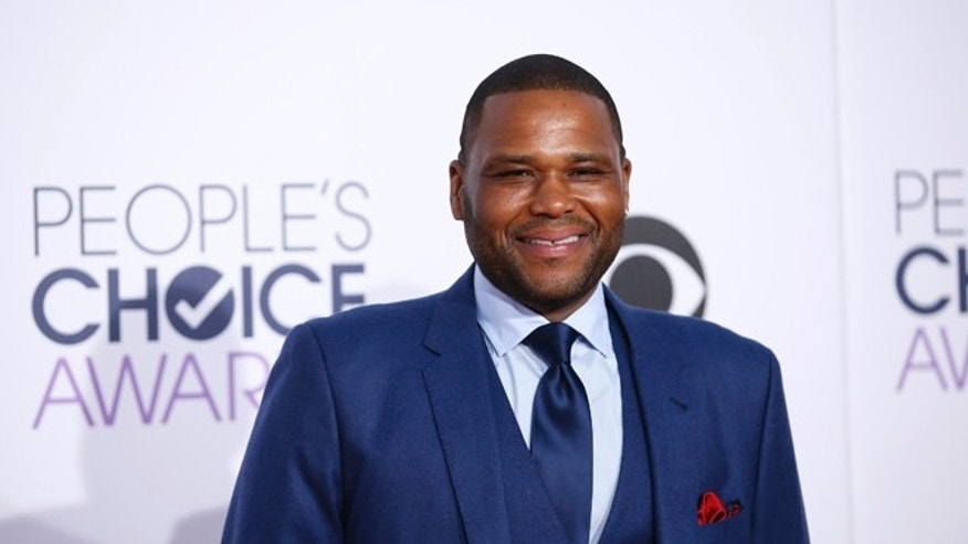 January 7, 2015. Anthony Anderson at the People's Choice Awards in Los Angeles.