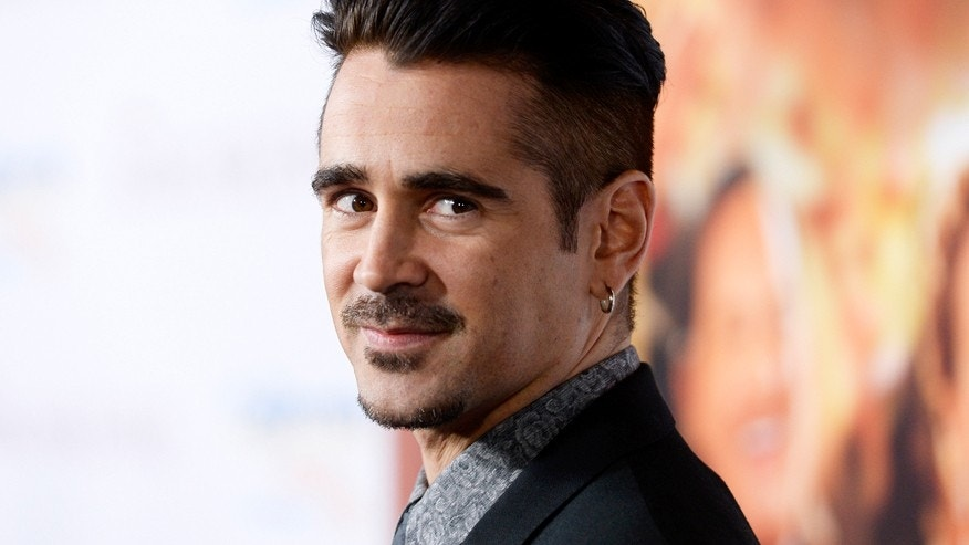 "Actor Colin Farrell attends the film premiere of ""Saving Mr. Banks,"" at the Walt Disney Studios in Burbank, California, December 9, 2013."