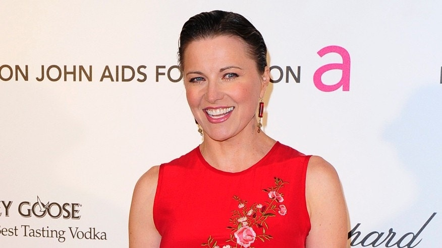 Actress Lucy Lawless arrives at the 2013 Elton John AIDS Foundation Oscar Party in West Hollywood, California, February 24, 2013. REUTERS