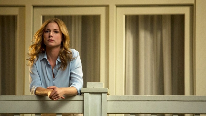 "Emily VanCamp appears in a scene from ""Revenge."""