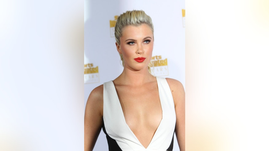 January 14, 2014. Ireland Baldwin arrives for the 50 Years of Beautiful broadcast special show celebrating the 50th Anniversary of the Sports Illustrated Swimsuit Issue at the Dolby Theater in Los Angeles, California.