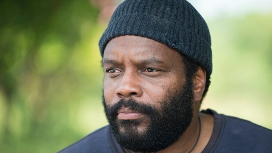 "Chad Coleman as Tyreese in ""The Walking Dead."""