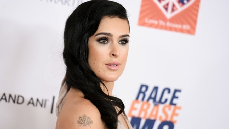 April 24, 2015: Rumer Willis arrives at the 22nd Annual Race To Erase MS Event in Los Angeles (Photo by Richard Shotwell/Invision/AP)