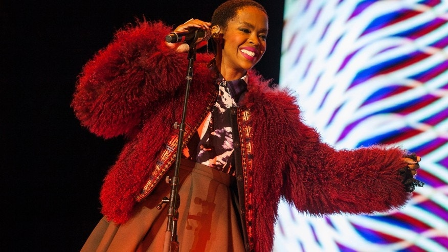 In this Nov. 1, 2014 file photo, Lauryn Hill performs at the Voodoo Music Experience in New Orleans.