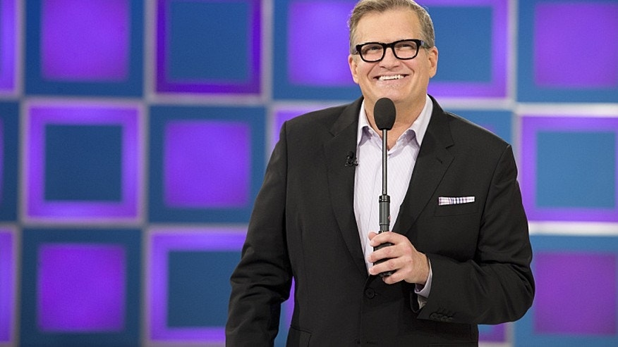 "Drew Carey, host of ""The Price Is Right."""