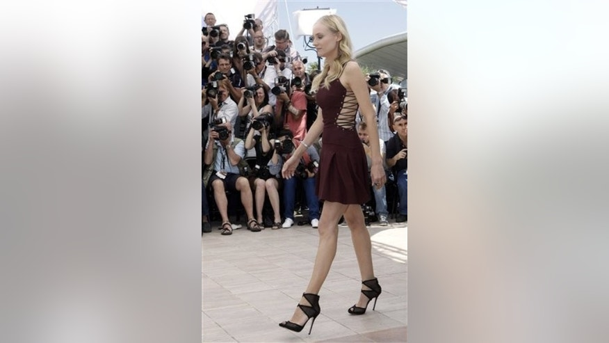 Member of the jury Diane Kruger attends a photo call for the members of the jury at the 65th international film festival, in Cannes, southern France, Wednesday, May 16, 2012. (AP Photo/Lionel Cironneau)
