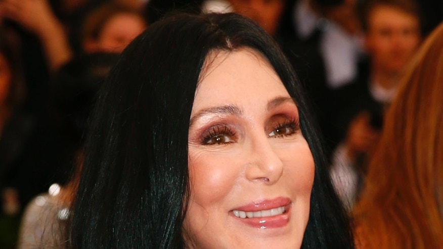 May 4, 2015. Cher arrives at the Metropolitan Museum of Art Costume Institute Gala 2015 in New York City.