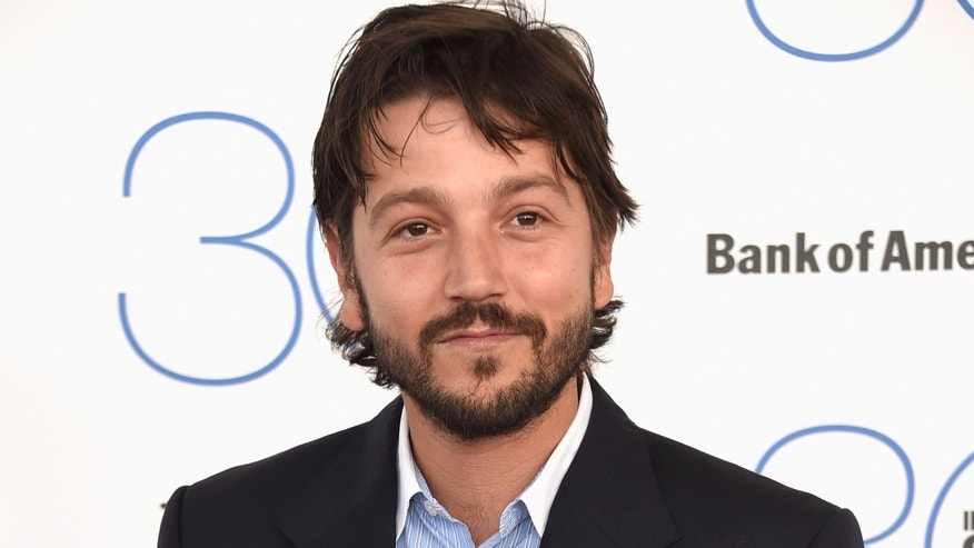 Diego Luna at the Spirit Awards on February 21, 2015 in Santa Monica, California.