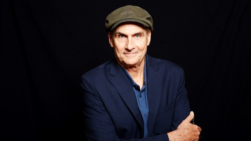 May 13, 2015. Grammy Award winning singer-songwriter James Taylor poses for a portrait in New York.
