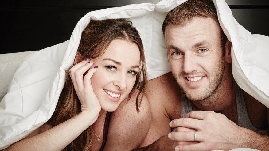"Jamie Otis and Doug Hehner of FYI's ""Married at First Sight: The First Year."""