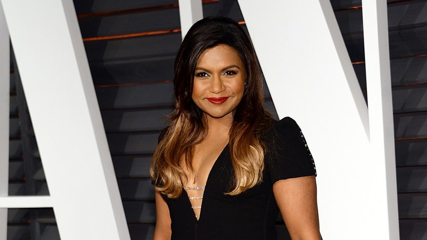 Feb. 22, 2015. Mindy Kaling arrives at the 2015 Vanity Fair Oscar Party in Beverly Hills, Calif.