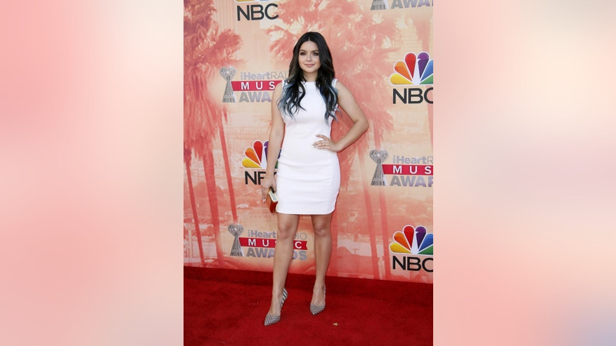 March 29, 2015. Actress Ariel Winter poses at the 2015 iHeartRadio Music Awards in Los Angeles, California.