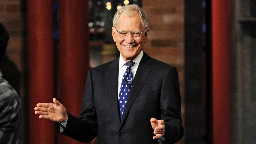 "In this image released by CBS, David Letterman appears during a taping of his final ""Late Show with David Letterman"" Wednesday, May 20, 2015 at the Ed Sullivan Theater in New York."