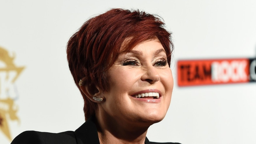 "November 4, 2015. Sharon Osbourne speaks during 10th annual of ""Classic Rock Roll of Honour"" awards in Los Angeles, California."
