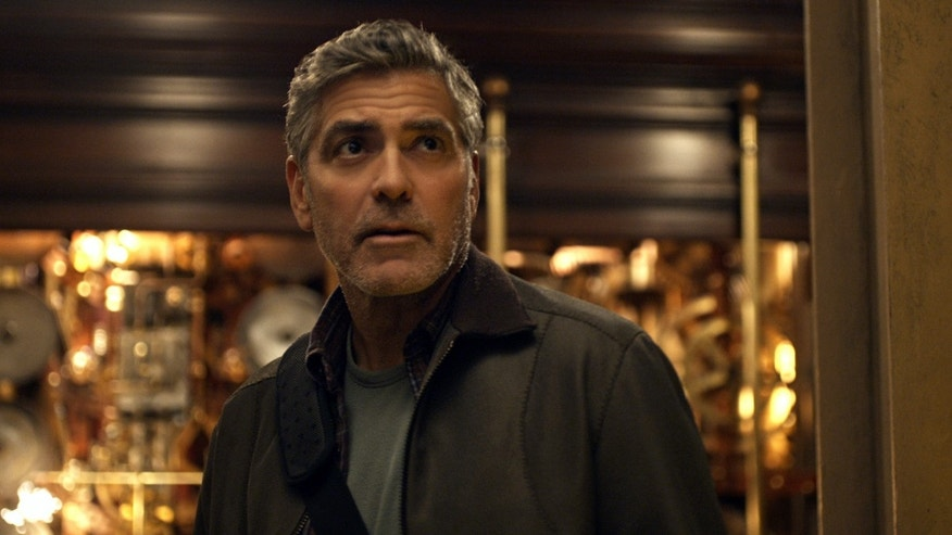 "George Clooney, as Frank Walker, in a scene from Disney's ""Tomorrowland."""
