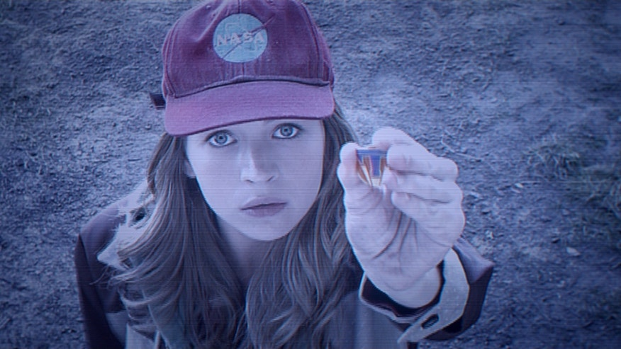 "Britt Robertson as Casey, in a scene from Disney's ""Tomorrowland."""