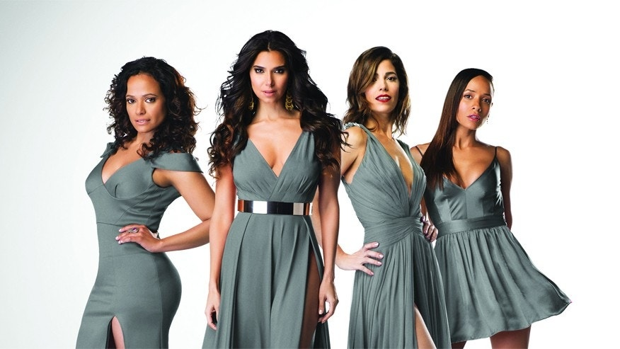 Judy Reyes, Roselyn Sanchez, Ana Ortiz and Dania Ramirez star in season three of Lifetime's drama Devious Maids, premiering Monday, June 1, at 9pm ET/PT on Lifetime.