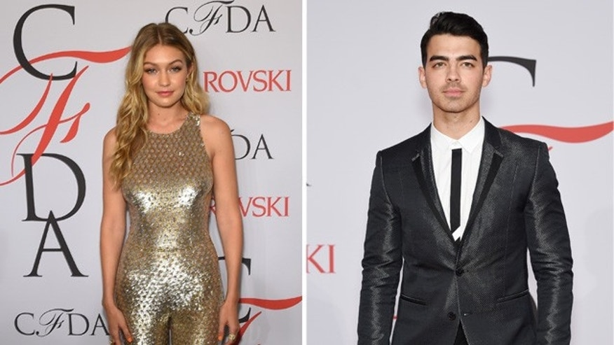 Gigi Hadid and Joe Jonas.