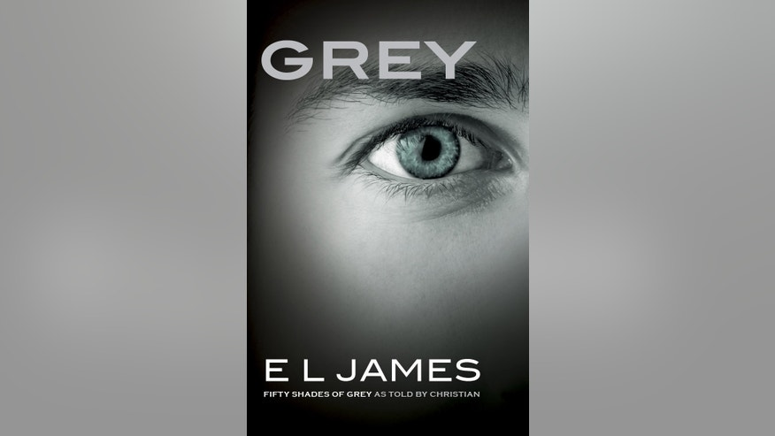 "This image provided by Vintage Books shows the cover of the new book, ""Grey,"" the fourth novel in E L James' multimillion-selling Fifty Shades of Grey erotic series. Told from the point of view of billionaire Christian Grey, whose explicit romance with young Anastasia Steele became an international obsession, the book is scheduled to be released June 18, 2015. (Vintage Books via AP)"
