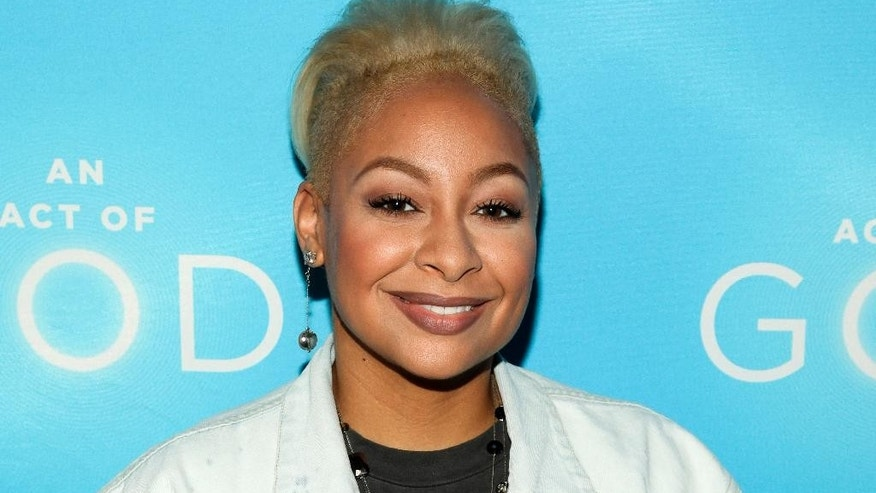 """FILE - In this May 28, 2015 file photo, actress Raven-Symone attends the Broadway opening of """"An Act Of God"""" at Studio 54 in New York. Raven-Symone is now officially a co-host of """"The View."""" After 37 appearances as guest co-host on the weekday talk show, she joins the panel alongside moderator Whoopi Goldberg and co-hosts Nicolle Wallace and Rosie Perez effective immediately.  Her co-panelists made the announcement on Wednesday's edition. (Photo by Andy Kropa/Invision/AP, File)"""