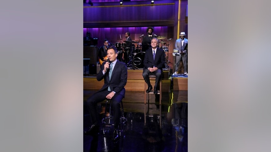 "Jeb Bush was featured Tuesday on the ""Tonight"" show's recurring ""slow jam the news"" skit with host Jimmy Fallon."