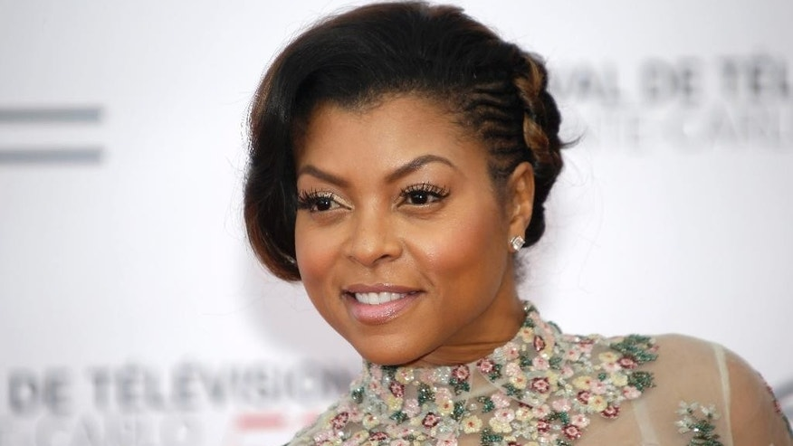 June 13, 2015. Taraji P. Henson poses during the opening ceremony of the 2015 Monte Carlo Television Festival in Monaco.