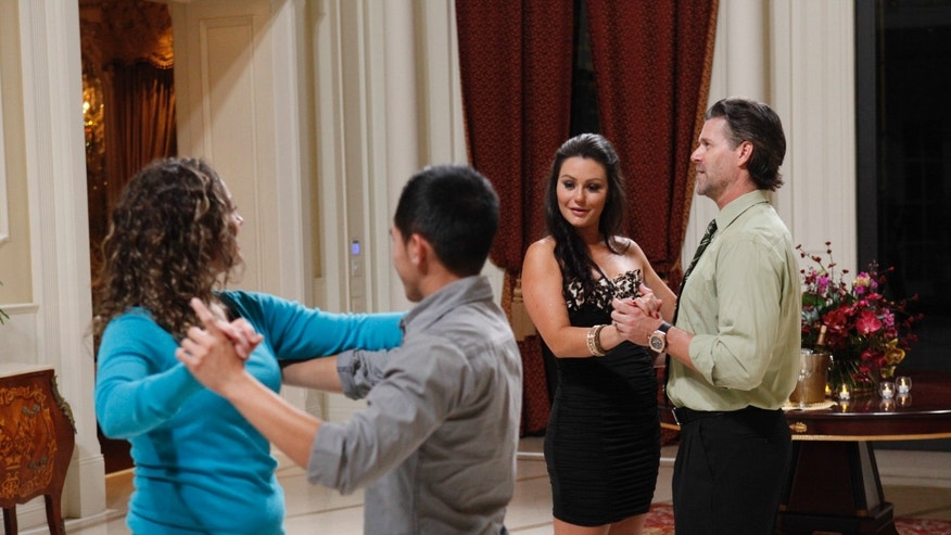 "Reality stars are shown on ""Marriage Boot Camp."""