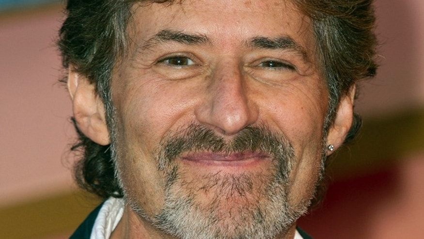 March 27, 2012: Composer James Horner arrives at the 'Titanic 3D' UK film premiere at the Royal Albert Hall in Kensington, West London.